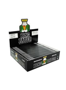 Caixa De Seda King Paper White King Size