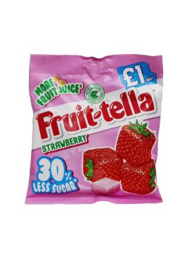 Bala Importada Fruit-Tella Strawberry