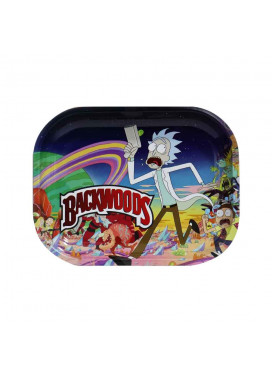 Bandeja de Metal Rick and Morty Backwoods
