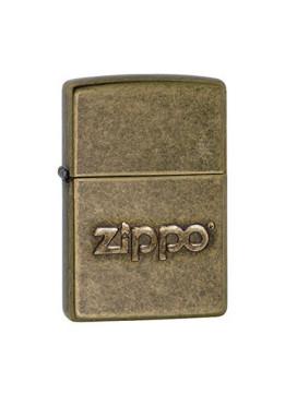 Isqueiro Zippo 28994 Antique Brass Logo