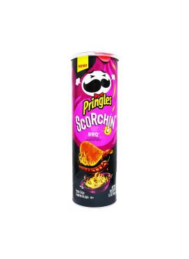 Batata Pringles Importada E.U.A Scorchin barbecue