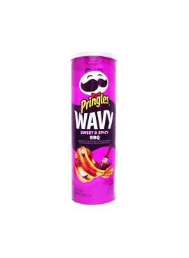 Batata Pringles Importada E.U.A Wavy Sweet & Spicy