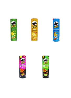 Kit Batatas Pringles importadas Estados Unidos - 5 Sabores