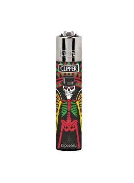 Isqueiro Clipper Skull 2/4