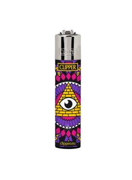Isqueiro Clipper Eye Mandalas 1/4