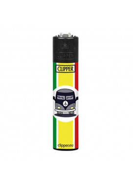 Isqueiro Clipper Hippie Van 3/4