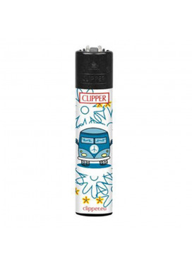 Isqueiro Clipper Hippie Van 4/4