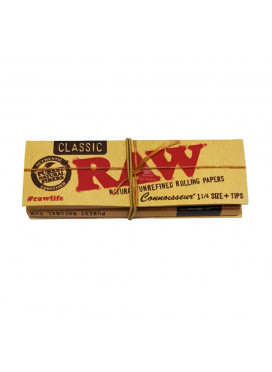 Seda Raw Classic Connoisseur 1 1/4 + Piteira