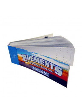 Piteira de Papel Elements Perforated