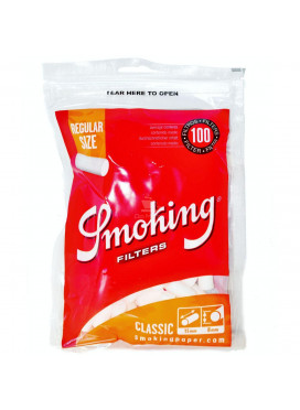 Filtro Smoking Classic 8mm - 100 filtros