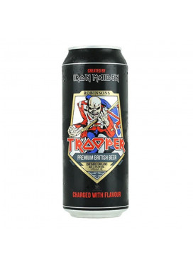 Cerveja Trooper Iron Maiden - IMPORTADO