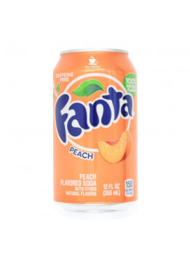 Refrigerante Importado Fanta Peach