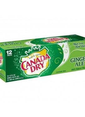 Refrigerante Importado Ginger Ale Canada Dry