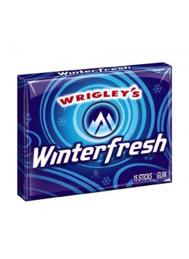 Chiclete Importado Wrigley's Winterfresh