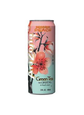Chá Arizona Green Tea Ginseng & Peach