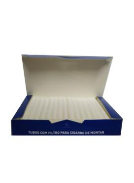 Tubos com filtro para montar cigarro- 50 Unidades