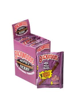 Caixa de Blunt Backwoods Honey Berry