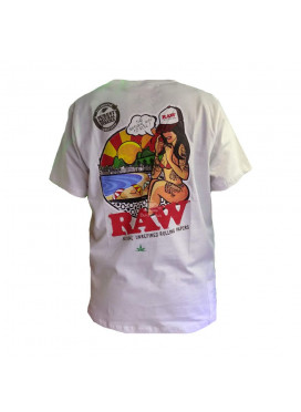 Camiseta 420 Friends x Raw Brazilian Girl