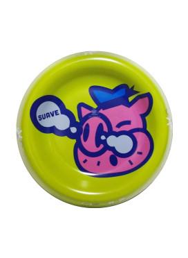 Cinzeiro de Metal Suave Pig Smoker