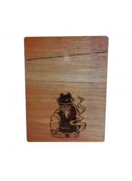 Cigarreira Mr. da Mata x Wood Burning