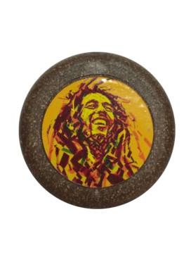 Dichavador de Fibra de Coco Bob Marley Reggae