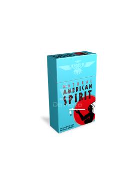 American Spirit cigarro- Azul