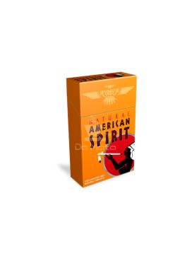 American Spirit cigarro- Laranja