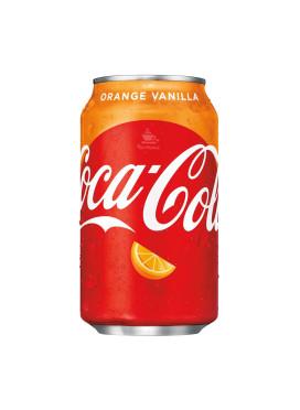 Coca-Cola Orange-Vanilla - IMPORTADA lata 355ml - EUA
