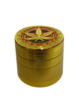 Dichavador de Metal Cannabis