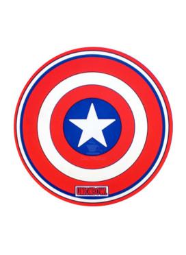 Tapete de Silicone p/ Narguilé Capitão América
