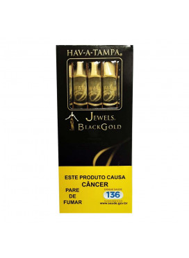 Cigarrilha Hav-a-Tampa Jewels Black Gold