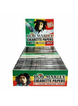Caixa de Seda Smoking Bob Marley 1 1/4