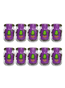 Croc Buds, Purple Croc - ATACADO 10 unidades