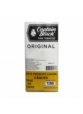Tabaco p/ cachimbo Captain Black White