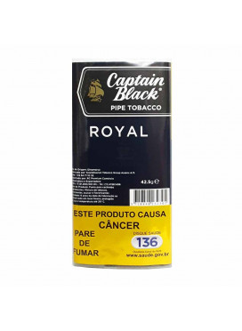 Tabaco p/ cachimbo Captain Black Royal