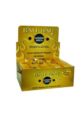 Caixa de Carvão Bali-Hai Golden Disco 33mm