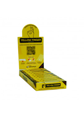 Caixa de Piteira Yellow Finger Original Slim