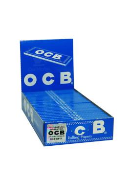 Caixa De Seda Ocb N8 Blue  -25 Unidades Importada França