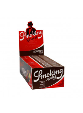Caixa de Seda Smoking Liquorice Regular