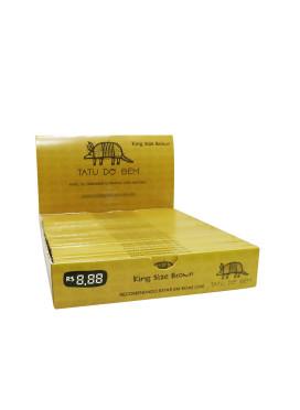 Caixa de Seda Tatu do Bem Brown King Size