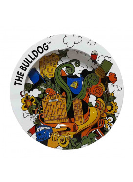Cinzeiro de Metal The Bulldog Funky