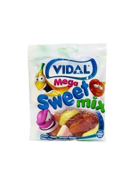 Bala de Goma Vidal Mega Sweet Mix 100g