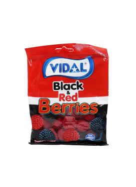 Bala de Goma Vidal Black & Red Berries 100g