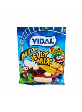 Bala de Goma Vidal Mega Jelly Mix 100g