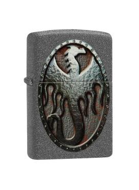 Isqueiro Zippo 49072 Metal Dragon