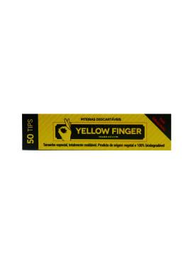 Piteira de Papel Yellow Finger Original Slim