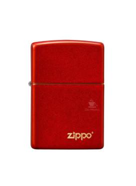 Isqueiro Zippo 49475ZL Vermelho Metalico