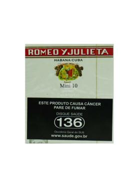 Charuto Romeo y Julieta Mini 10