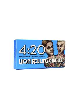 Celulose Lion Rolling Circus 4:20 1 1/4 420 Folhas