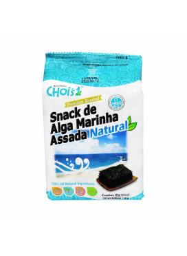 Chois Snack de Alga Marinha Assada Natural